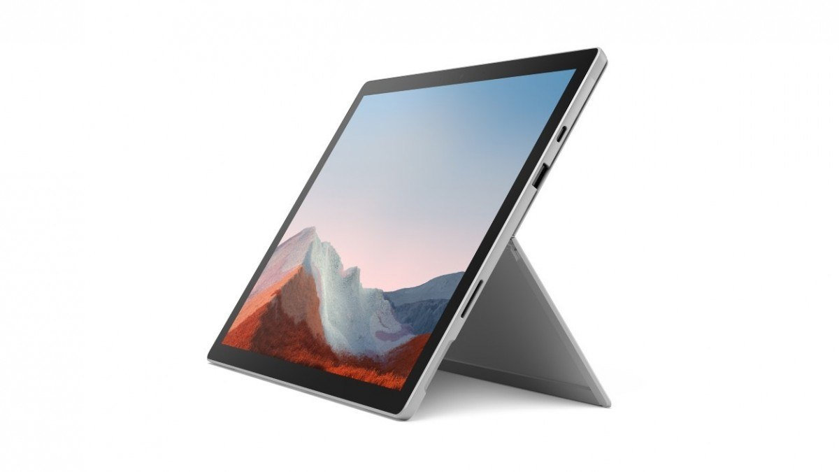 Microsoft Surface Pro 7+ Platinum 512GB/i7-1165G7/16GB/12.3' Win10Pro Commercial 1ND-00003