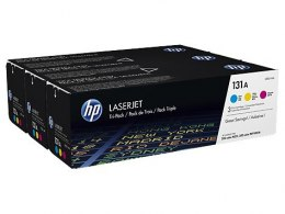 HP Inc. Toner 131A C/M/Y 1.8k U0SL1AM