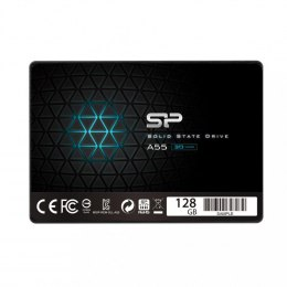 "Silicon Power Dysk SSD Ace A55 128GB 2,5"" SATA3 550/420 MB/s 7mm"