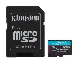 Kingston Karta microSD 128GB Canvas Go Plus 170/90MB/s Adapter