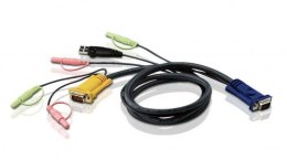 ATEN Kabel 3M USB KVM Cable 3in1 SPHD and Audio 2L-5303U