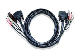ATEN Kabel USB DVI-D Single Link KVM 2L-7D02U