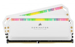Corsair Pamięć DDR4 Dominator Platinum RGB 16GB/3200 (2*8GB) WHITE CL16