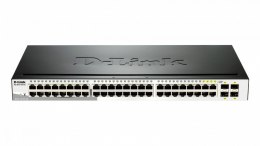 D-Link DGS-1210-48 SMART switch L2 44x1GbE 4xCombo Metal Rack 19''