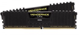 Corsair Pamięć DDR4 Vengeance LPX 16GB/3600(2*8GB) BLACK CL18 Ryzen kit