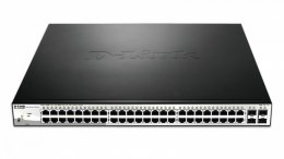 D-Link DGS-1210-52MP,48x 1Gbps Smart Sw,4x SFP