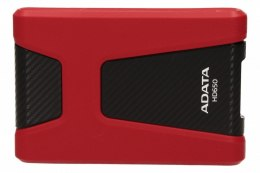 Adata DashDrive Durable HD650 1TB 2.5'' USB3.0 Czerwony