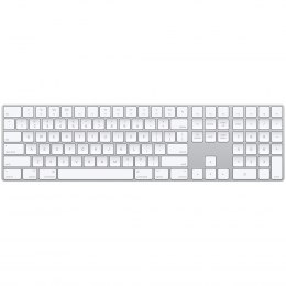 Apple Magic Keyboard with Numeric Keypad - USA - Silver