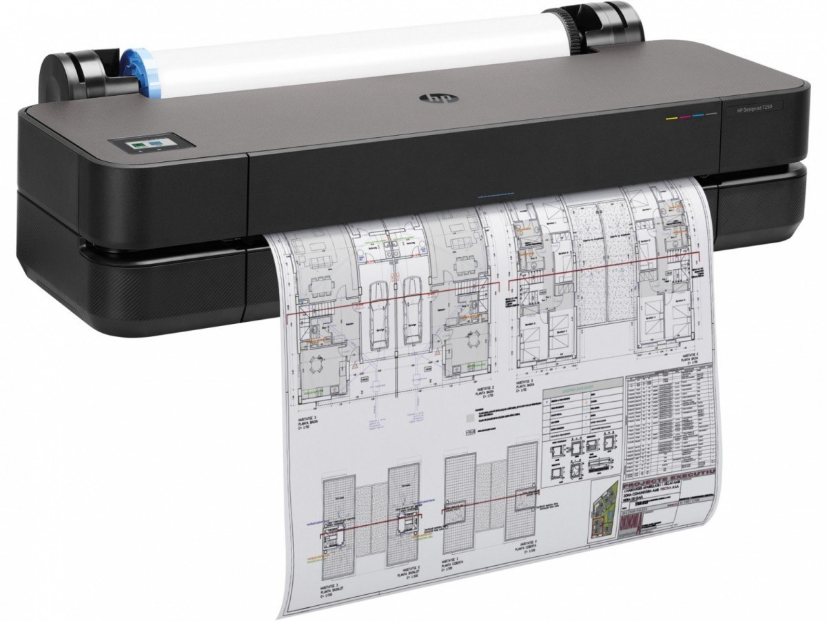 HP Inc. Drukarka wielkoformatowa DesignJet T250 24-in Printer 5HB06A