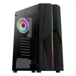 AeroCool Mecha ARGB TG USB 3.0 Mid Tower Black
