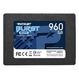 Patriot SSD 960GB Burst Elite 450/320MB/s SATA III 2.5