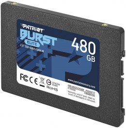 Patriot SSD 480GB Burst Elite 450/320MB/s SATA III 2.5